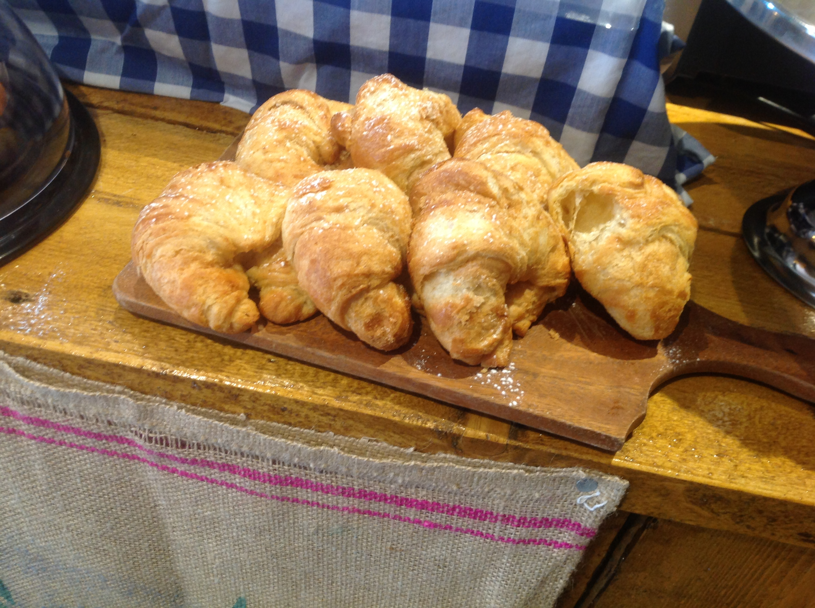 Croissants at Farmhouse Kitchen Kendal